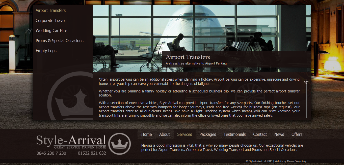 Style-Arrival Airport Transfers